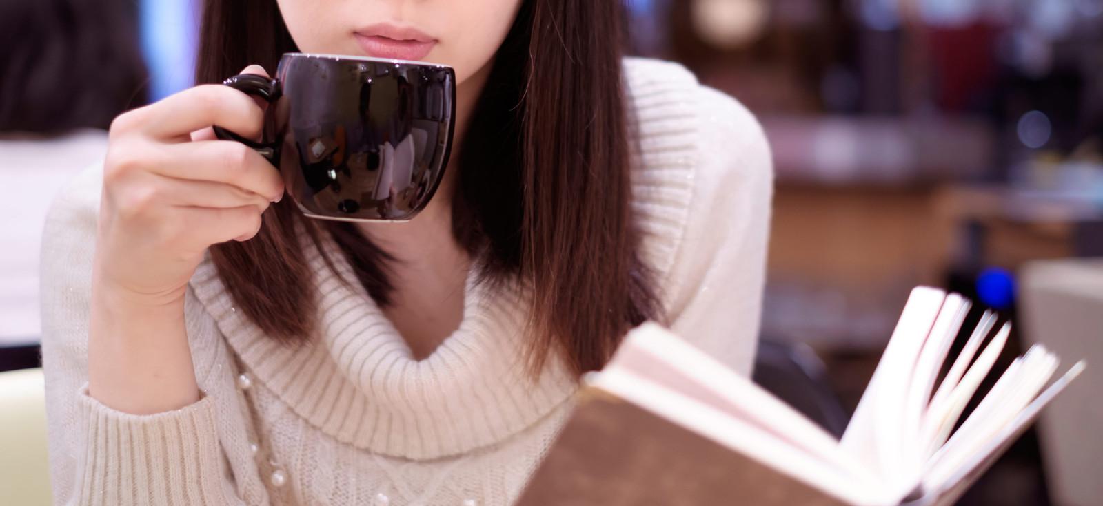 カフェで一息