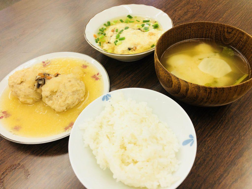 お腹にやさしい食事☆
