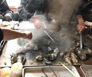 香川の牡蠣小屋