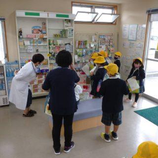 朝倉小学校からの探検隊