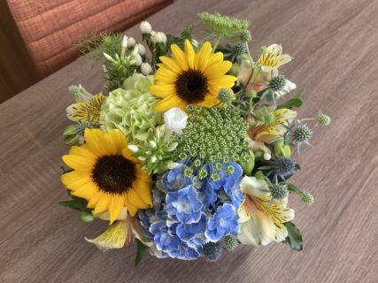 今週のお花 拝志